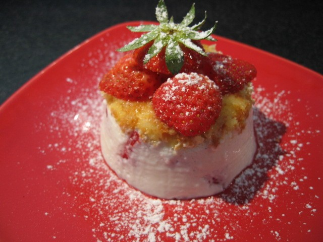 Mini Cake Myrtilles