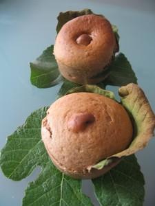 muffins la figue et la farine de ch taigne en habit de feuille de figuier ligne papilles. Black Bedroom Furniture Sets. Home Design Ideas