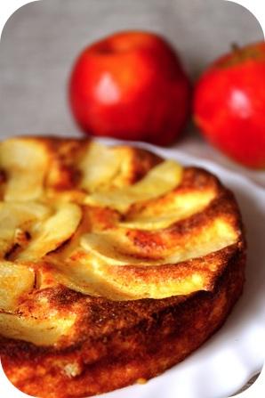fiadone-aux-pommes