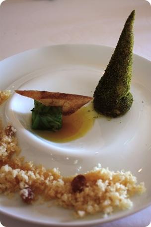 Caille conique, saveur tagine