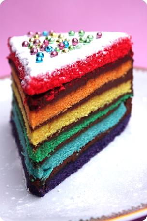 un rainbow cake pour tes 10 ans ligne papilles. Black Bedroom Furniture Sets. Home Design Ideas
