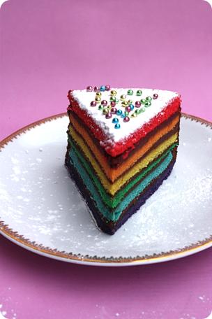 Cake Rainbow Deco