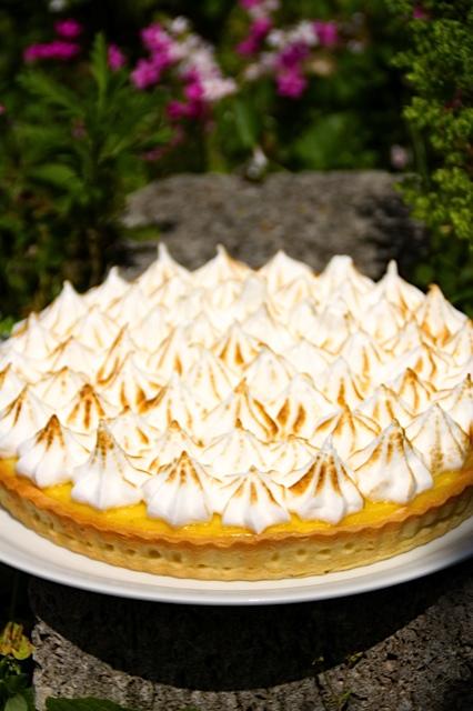 tarte aux citrons meringuée